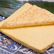 ばら寿司用キンシの写真。神戸の玉子焼、だし巻の製造・販売メーカー武田食品