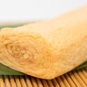 大だし巻の写真。神戸の玉子焼、だし巻の製造・販売メーカー武田食品