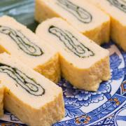 磯巻の写真。神戸の玉子焼、だし巻の製造・販売メーカー武田食品