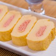 明太子だし巻の写真。神戸の玉子焼、だし巻の製造・販売メーカー武田食品